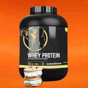Whey Proteïne 750 g Cookies cream - Gorilla Sports