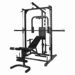Multi Smith Machine met Fitnessbank