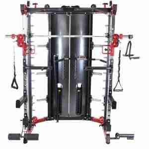 Multistation Power Rack met gewichten - Gorilla Sports