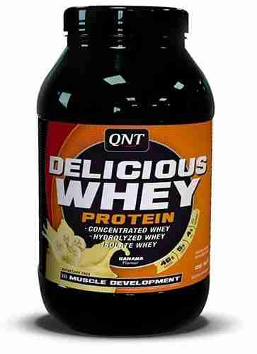 QNT Delicious Whey Protein - 908g - Vanille